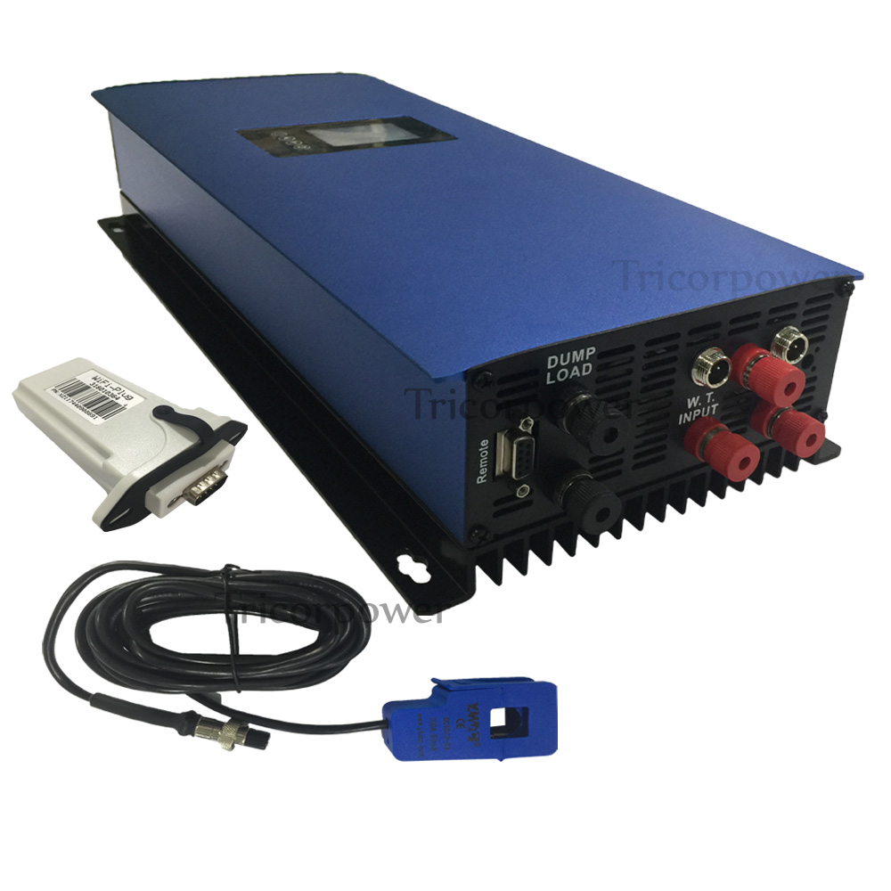 Onduleur à grille pour vent Trubine 1000 W deuxième génération onduleur à grille éolienne avec Interface Wifi