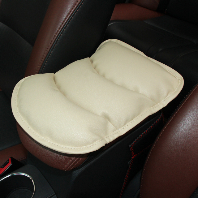 Car Armrests Cover Pad Vehicle Center Console Arm Rest Seat Pad For Nissan Teana X-Trail Qashqai Livina Tiida Sunny Murano Juke