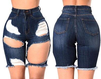 Denim Knee High Shorts Promotion-Shop for Promotional Denim Knee ...