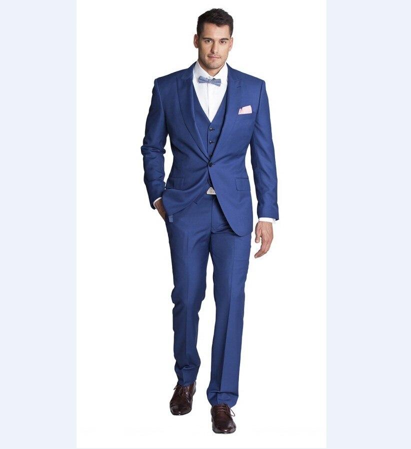 8cced8bcaa8f Groomsmen Vestito grigio oro Stile Abiti Blu Cielo Di Bianco brown B457  Risvolto azzurro Sposa Migliore ...