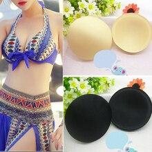 1 Pair Practical Summer Breast Bra Bikini Inserts Chest Pad Women Swimsuit Padding Inserts Sponge Foam Bra Pads Chest Cups