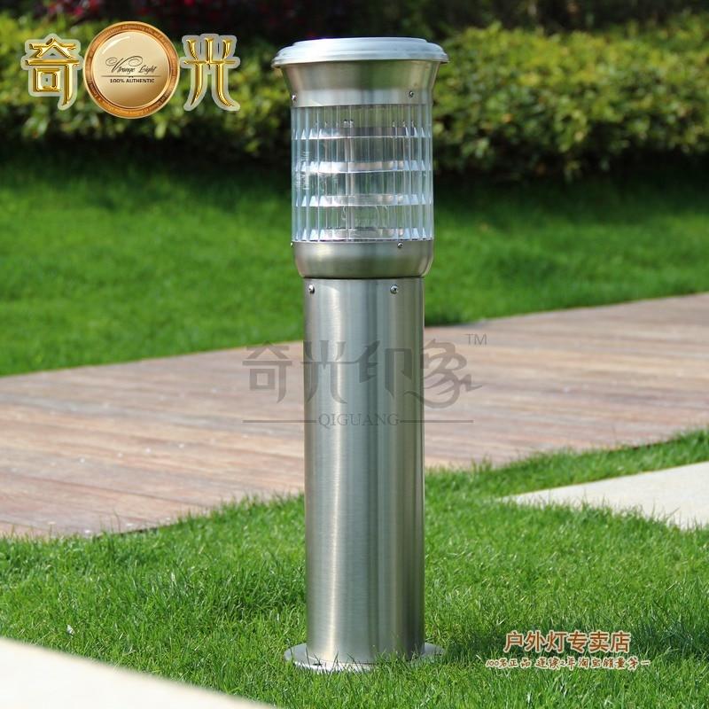 Luminarias de jardin exterior vw w lm cob led baliza for Iluminacion solar de jardin