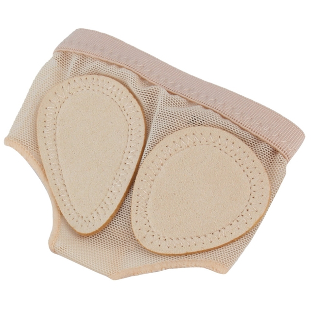 1 Pair Foot Protector Forefoot Dance Paws Cover Toe Undies Shoes Ballet Gymnastics Dance Latin Practice Foot Set Front Protect