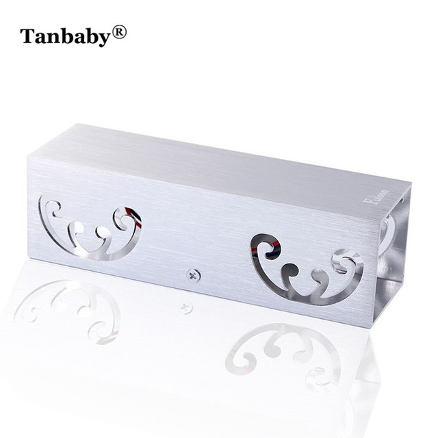 Tanbaby Aluminum 2W Butterfly LED Wall Sconce Wall Light Projection Mounted Fixture Modern Lamp Cafe Studio Hall Home Decoration