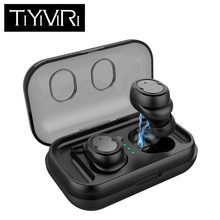 Mini Bluetooth 5.0 Earphone Touch Control Stereo Music In-ear Headset IPX5 Waterproof Wireless Earbuds for Samsung iPhone 7