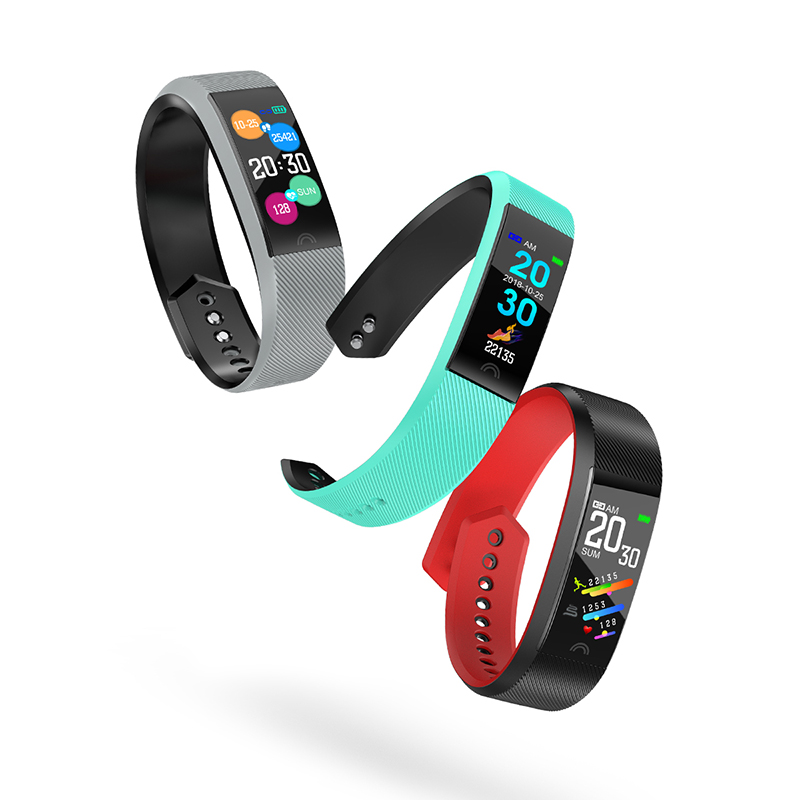 2019 Fitness Tracker Smart Band Watch Bracelet Men Women Activity Blood Pressure IP68 Smartband Wristband Banda Inteligente Life