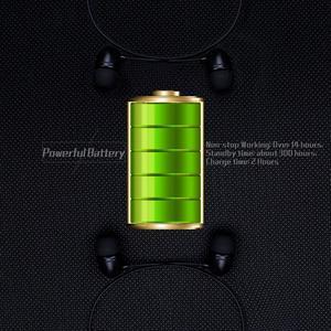 Image 4 - スポーツbluetoothイヤ14時bluetoothヘッドセットの音楽ヘッドフォンハンネックバンドイヤフォンxiaomi iphone 7