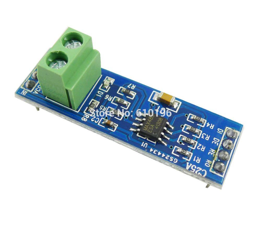 20PCS/LOT 5V MAX485 TTL To RS485 Converter Module Board For Arduino