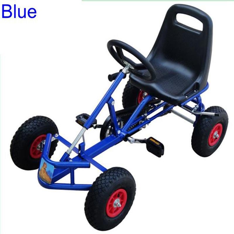 Pedal Kart einzelsitz vier rad billigen go kart für kinder in Pedal ...