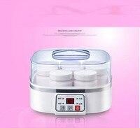 yogurt machine Home intelligent thermostat control homemade rice wine natto yogurt wine maker 8 glass cups