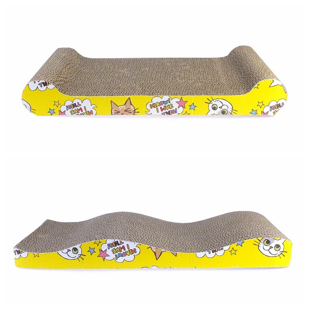 Cat Mint Toy Cats Scraper Scratches Toys Board Supplies Cat Scratcher Catnip Furniture Kitten Claws Scratch Scratching Ly0017 #5