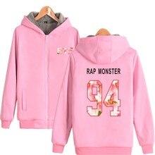 Bangtan7 Warm Velvet Hoodie Jacket (28 Models)