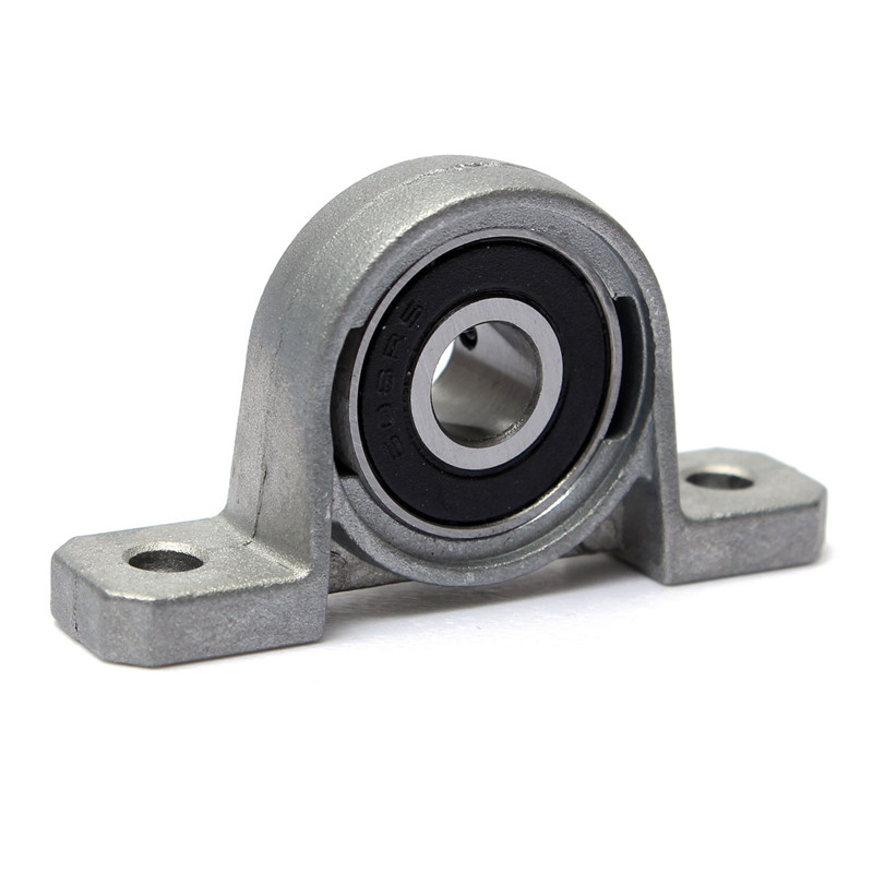 Zinc Alloy Diameter 8mm Bore Ball Bearing Pillow Block Mounted Support KP08 55x13x28mm machine Accessories 2pcs precision kp001 bearing shaft 12mm diameter zinc alloy pillow block mounted support ball bearings housing roller mayitr