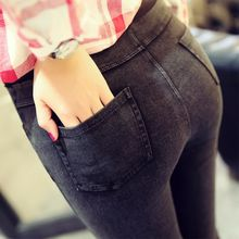 4871b32a8b Invierno Jeans espesado con terciopelo 2018 pantalones calientes ropa de  mezclilla ropa de maternidad para las mujeres embarazad.