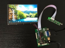 Best Buy 100%Tested For Raspberry Pi 1280*800 N070ICG-LD1 IPS LCD 7 inch LCD Screen Display Remote Driver Control Board 2AV HDMI VGA