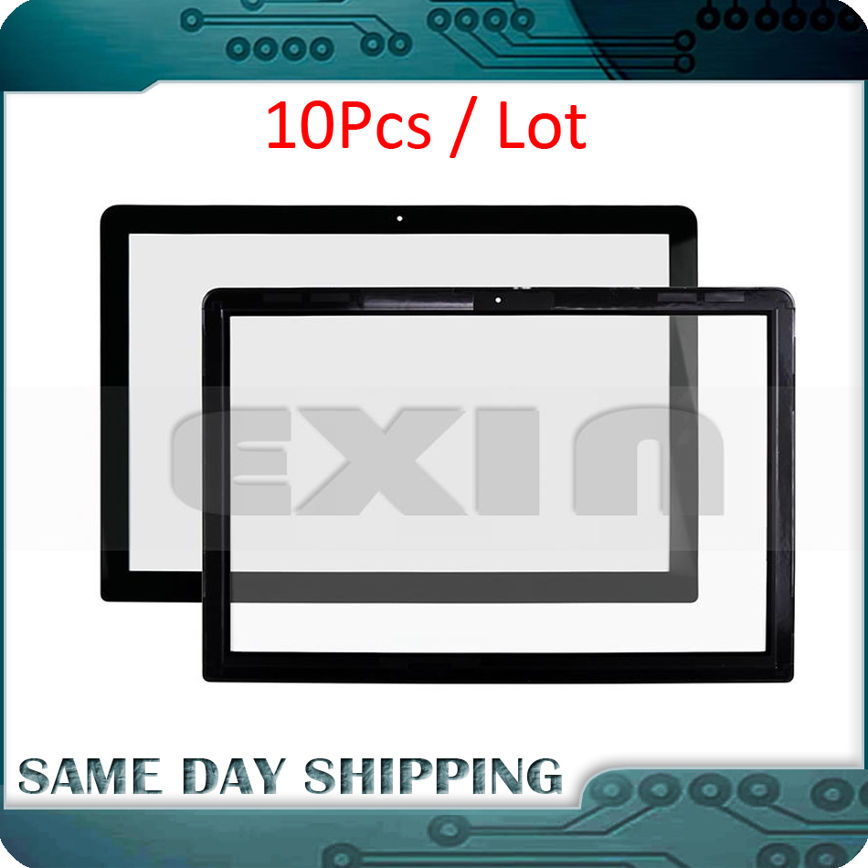 10PCS Lot Original New font b Laptop b font A1278 LCD Front Glass Cover for Macbook