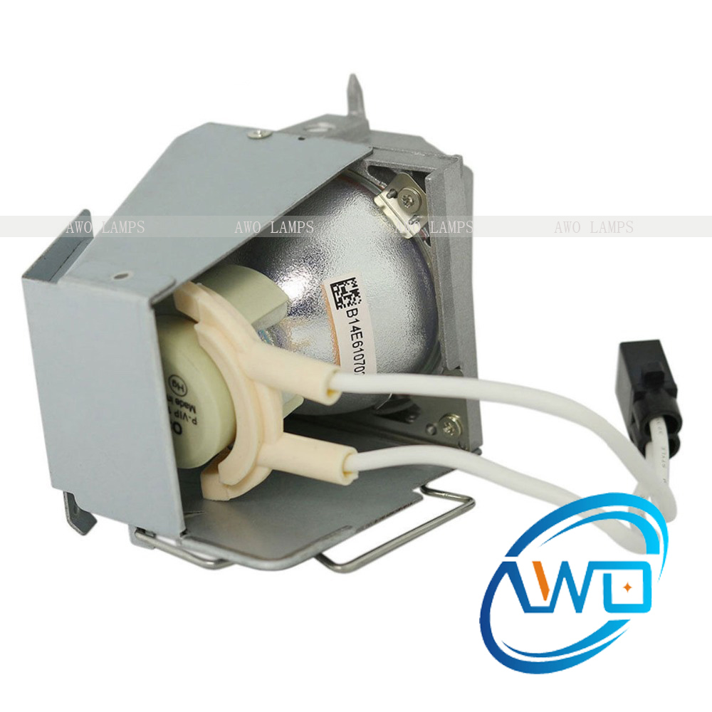 Free Shipping Original 725-BBCV Projector Lamp P-VIP190W Inside with Housing for DELL 1220 D4J03