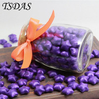 Purple Color Sealing Wax Granule Vintage DIY Multifunction In Bulk Granule 120pcs Bottle