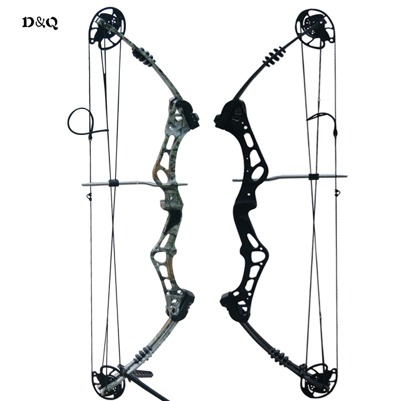 50lbs 60lbs Hunting Compound Bow Let-Off 75% for Outdoor Shooting Competition Sport Righ ...