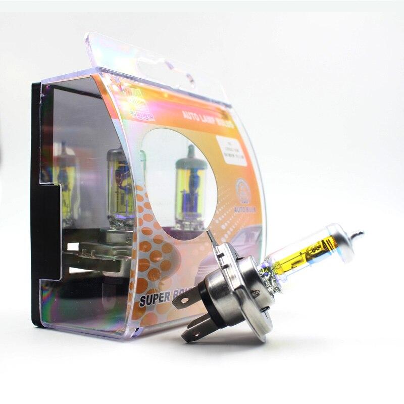 Untuk ford S-Max SCOE 2 PCS Auto Low Beam Super Halogen Bulb - Lampu mobil - Foto 2