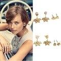European fashion jewelry S-D-J Eva Ear Jacket DROP EARRINGS elegant party drop earrings  -Free Shipping