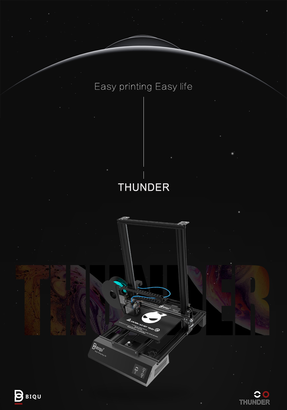 BIQU Thunder 3D Printer