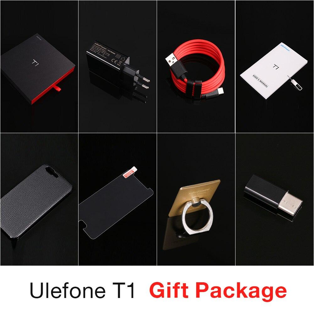 Ulefone T1 Двойная Камера 16MP+5MP Мобильный телефон 5.5 дюймов FHD helio P25 Octa core android 7.0 6 ГБ 64 ГБ Сканер отпечатков пальцев 4G телефон - 5