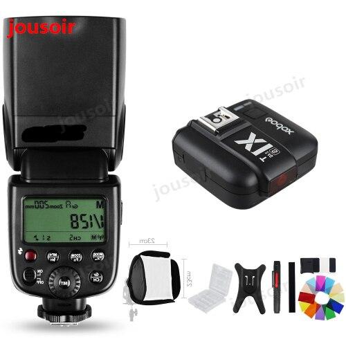 <font><b>Godox</b></font> TT600s HSS GN60 2,4 г Камера Вспышка Speedlite + X1T-S передатчик для S A7 A7S A7R A7 II A6000 a58 A99 CD50