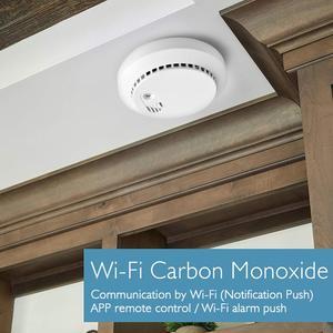 Image 5 - Lonsonho Tuya Smartlife Wifi wykrywacz tlenku węgla Co czujnik dymu inteligentny dom bezpieczeństwo inteligentna automatyka domowa