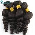 Panse Haar Lose Welle Indische Haarwebart Bundles 100% Menschlichen haar 3 Stück 8 28 Zoll Großverkauf der Fabrik Menschliches Haar verlängerung-in 3/4-Paket aus Haarverlängerung und Perücken bei