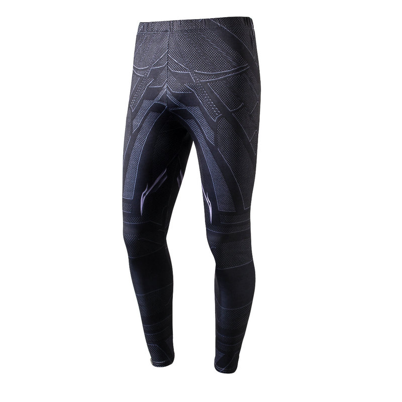 Brand Mens Long Compression Pants Speed Dry Crossfit Fitness Workout Pants Pantalon Homme Cargo Leggings Trousers