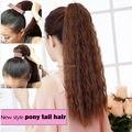 Afro Kinky завитые ponytail наращивание волос долго обернуть вокруг хвостики клип расширение карс яки шиньоны для чернокожих женщин НОВЫЙ
