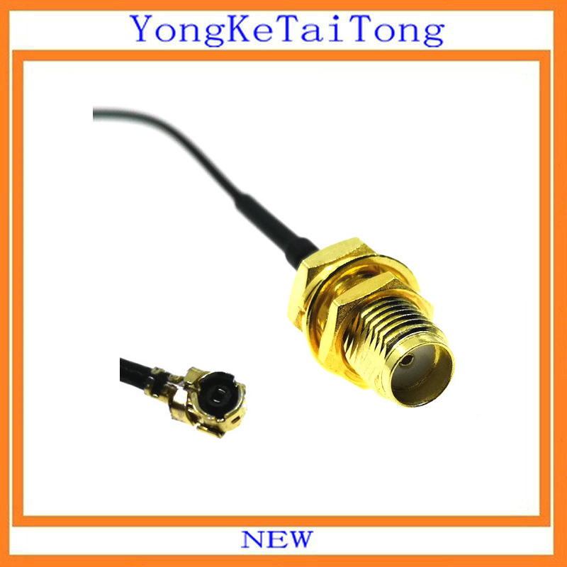 100PCS RF SMA Connector Cable Female to uFL/u.FL/IPX/IPEX RF Or NO Connector Coax Adapter Assembly Pigtail Cable 1.13mm-in Integrated Circuits from Electronic Components & Supplies