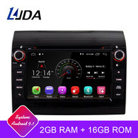 LJDA Android 9.1 Car DVD Player For Fiat Ducato 2009 2010 2011 2012 2013 2014 2015 Citroen Jumper Peugeot Boxer 1 Din Radio GPS