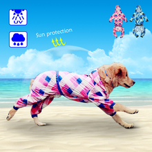 Hodded Dog Raincoat Summer Dogs Jacket Waterproof Pet Sun Protection Jumpsuit Pets Rainwear Clothes Appreal for Medium Large