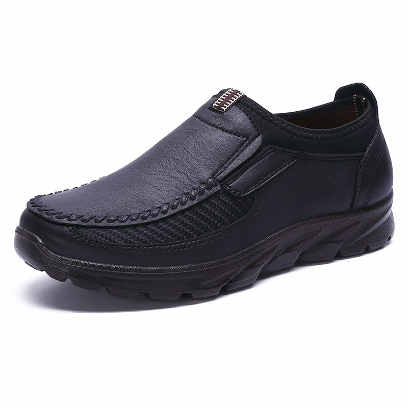2019 Famous Sneakers Outdoor Shoes Slip On Flat Shoes Male Footwear Men Shoes Quality PU Leather Men Moccasins Shoes Size 38-48