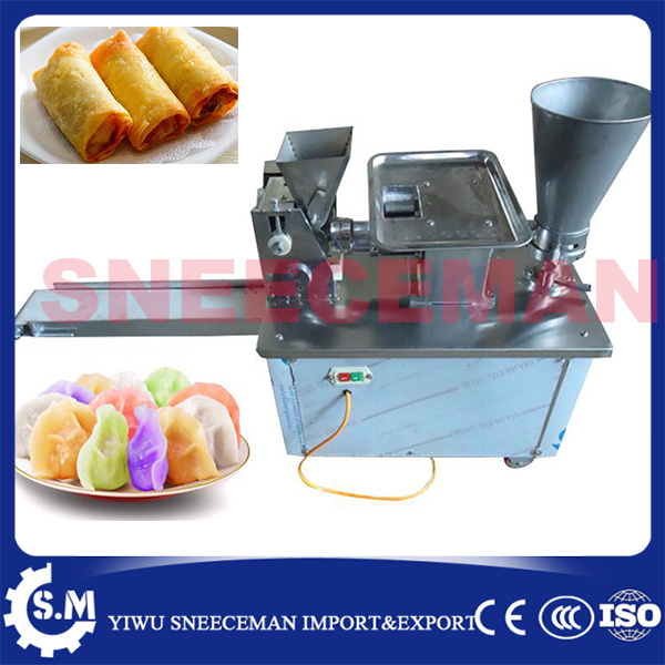 4800pcs/h Automatic Dumpling Machine Maker Momo Making Machine dumpling stuffed maker machine ce certificate automatic gyoza maker steamed dumpling make automatic stainless steel dough making machine chinese dumpling maker