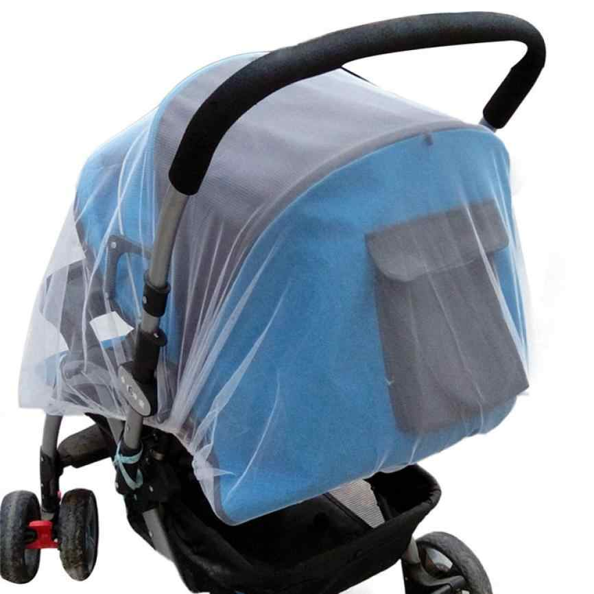 New Summer Safe Baby Carriage Insect Full Cover Mosquito Net Baby Stroller Bed Netting 0716