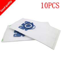 10Pcs/Lot Bags For Miele Type GN Deluxe Synthetic Vacuum & 2 Filters S2 S5 S8 C1 C3 Hepa Vacuum Cleaner DUST BAGS With FILTERS