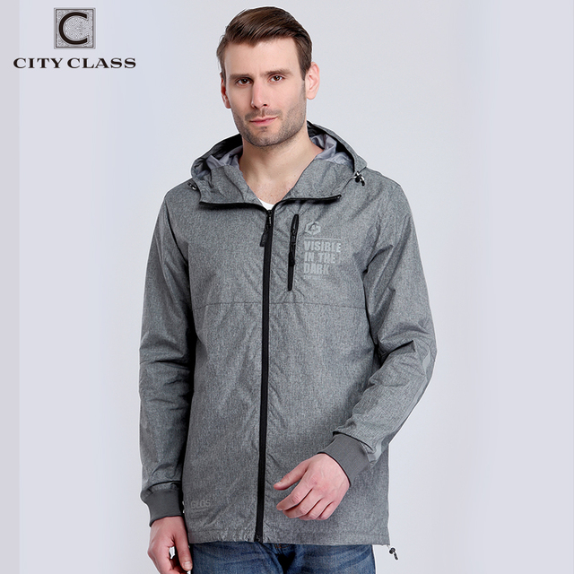 City Class 2017 New Spring Summer Windbreaker Mens Jackets And Coats Hooded Casual Fashion Multi Color Trench Clothing 3965