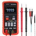 HC-X Digitale Multimeter Auto Range True RMS AC/DC Volt Amp Ohm Capaciteit Duty Cycle NCV Diode Temperatuur Tester 9999 Counts