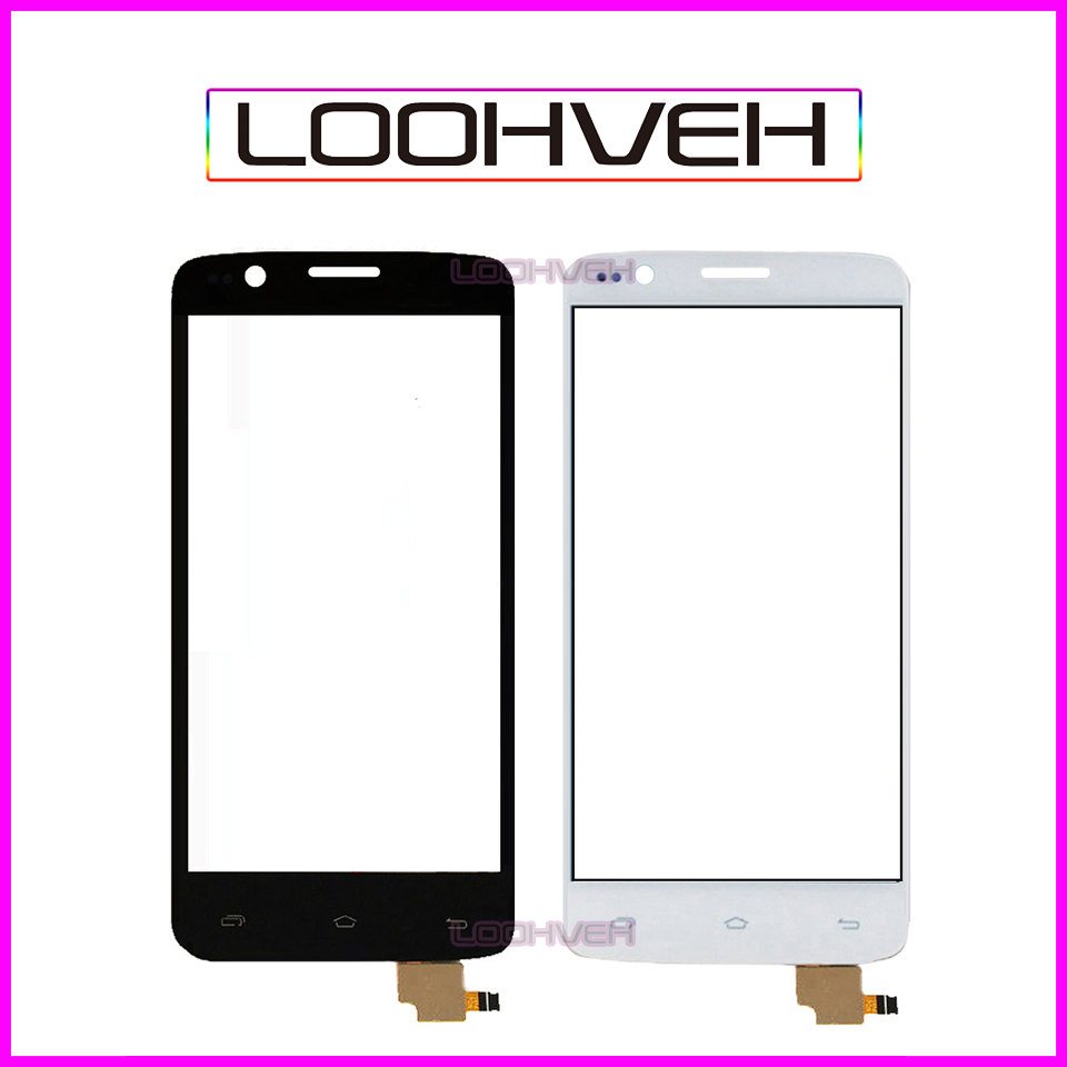 4.5 Touch Screen For FLY IQ4409 Quad ERA Life 4 IQ 4409 Digitizer Front Glass Lens Sensor Panel High Quality