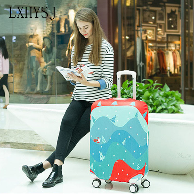 Cartoon Printing Luggage Cover Elastic Luggage Protective Covers 18 To 32 Inch Baggage Cover Suitcase Cover Travel Accessories