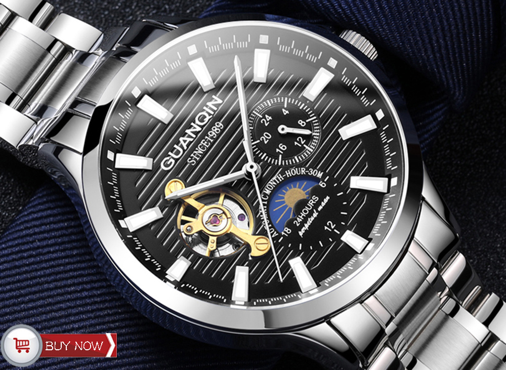 HTB1TtvQc.GF3KVjSZFvq6z nXXaq GUANQIN 2019 clock men's/mens watches top brand luxury automatic/mechanical/luxury watch men gold tourbillon mens reloj hombre