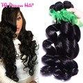 Перуанский освобождает волну девы волос связки человеческих волос 4 шт. свободная волна класс 8а необработанные девы волос weave сайты bloomy волос