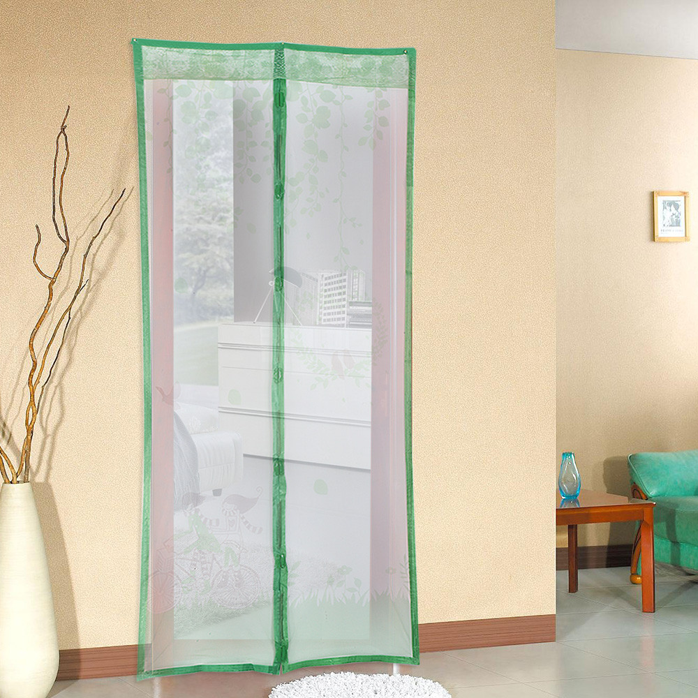 210x100cm 8 Types Magic Magnetic Insect Door Screen Divider Net Fly