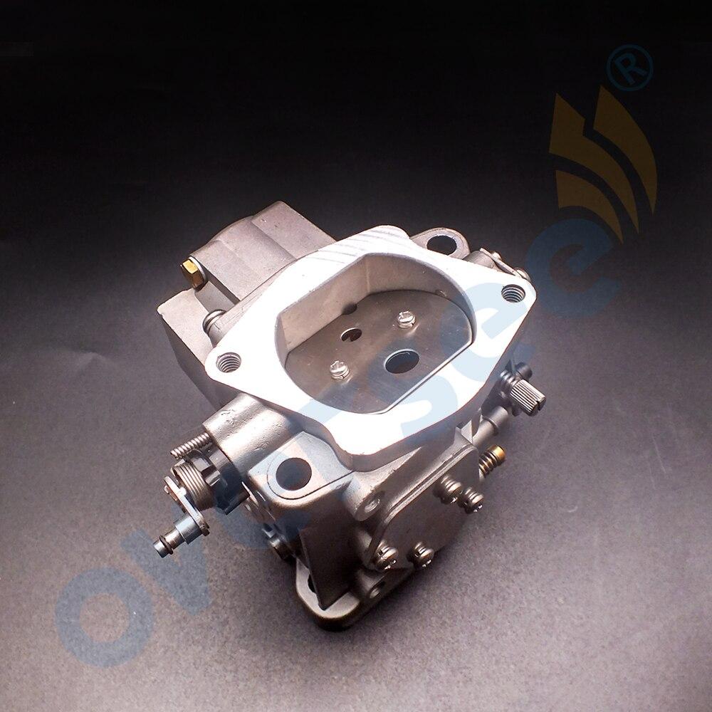 66T-14301-02 Carburetor For YAMAHA 40HP 2 Stroke E40XMH Outboard Motor aftermarket Boat Motor 66T-14301