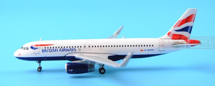 GJBAW1410 GeminiJets British Airways G-EUYV 1:400 A320 commercial jetliners plane model hobby полотенце махр с велюром egoist баттерфляй 50х90см коралловое