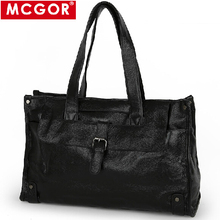 Famous brand 100% large men genuine leather travel bag men's business handbag shoulder messenger bags weekend duffle toteTB00031