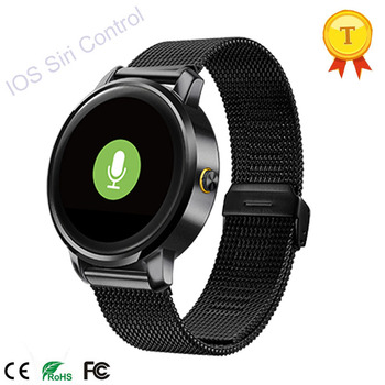 2017 Fashion Bluetooth Smart Watch with Heart Rate Monitoring Support Siri for IOS Phones Compatible for IOS and Android Phone